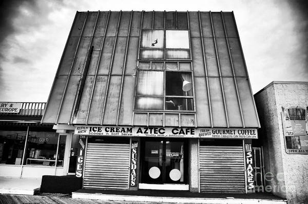 Aztec Cafe Poster featuring the photograph Aztec Cafe by John Rizzuto