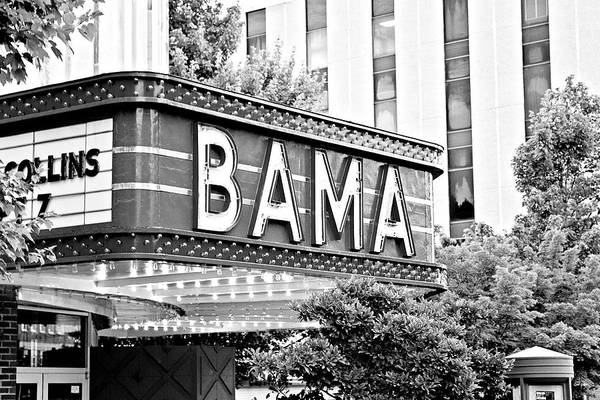 Bama Poster featuring the photograph Bama by Scott Pellegrin