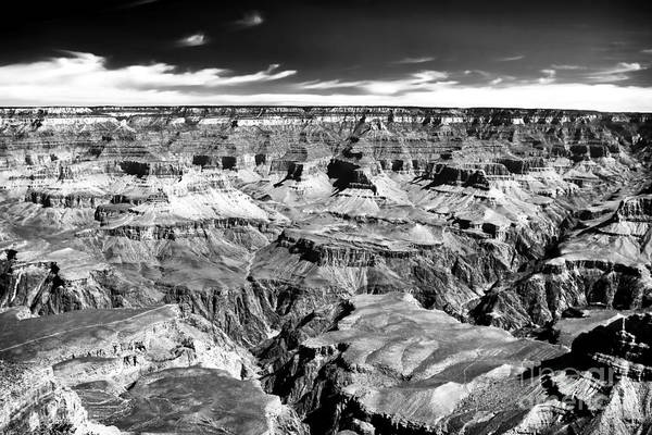 Canyon Craters Poster featuring the photograph Canyon Craters by John Rizzuto