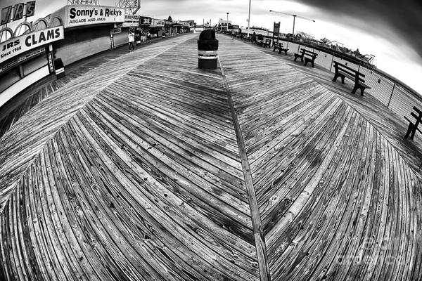 Seaside Distorted Poster featuring the photograph Seaside Distorted by John Rizzuto