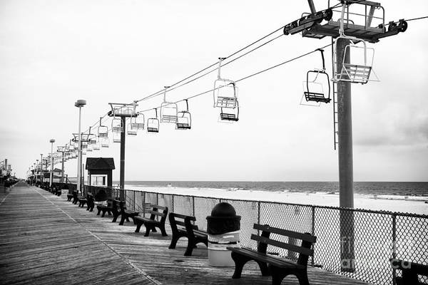 Boardwalk Ride Poster featuring the photograph Boardwalk Ride by John Rizzuto