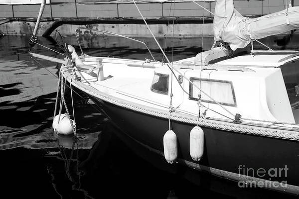 Sailboat Dock Poster featuring the photograph Sailboat Dock by John Rizzuto