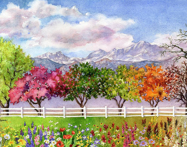 Parade of the Seasons by Anne Gifford