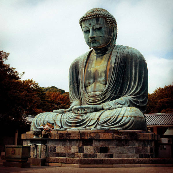 Nate Spotts Poster featuring the photograph Daibutsu by Nathan Spotts