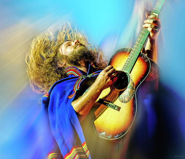 Jim James of My Morning Jacket by Mal Bray