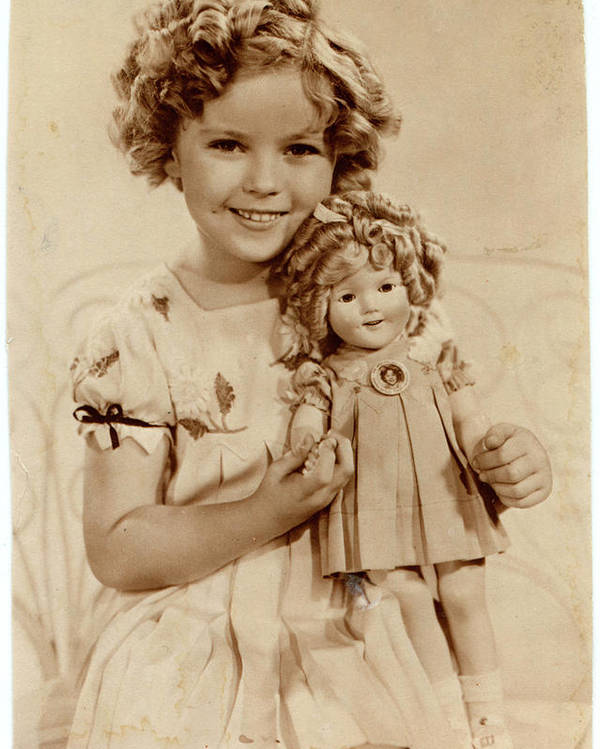 Shirley Temple  (1928 -2014), American by Mary Evans Picture Library