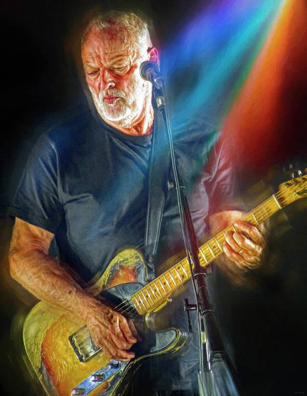 David Gilmour by Mal Bray