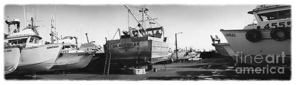 Alaska Poster featuring the photograph The Real Alaska - Dry Dock 2 by Pete Hellmann