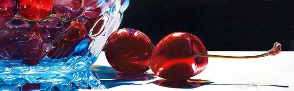 Colored Pencil Poster featuring the painting It Takes Two by Arlene Steinberg