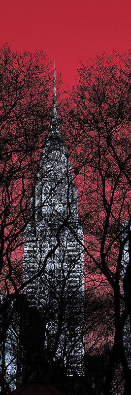 Nyc Poster featuring the photograph Chrysler Building 8 by Andrew Fare