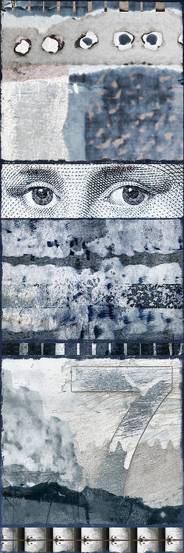 Collage Poster featuring the photograph Eyes On Seven by Carol Leigh