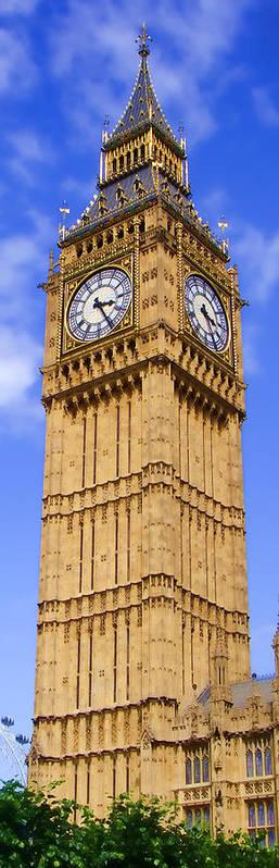 Big Ben Poster featuring the photograph Big Ben by Roberto Alamino