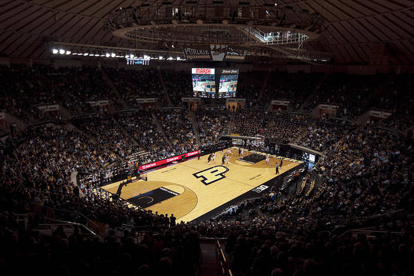 Purdue Poster featuring the photograph Purdue Boilermakers Mackey Arena by Replay Photos