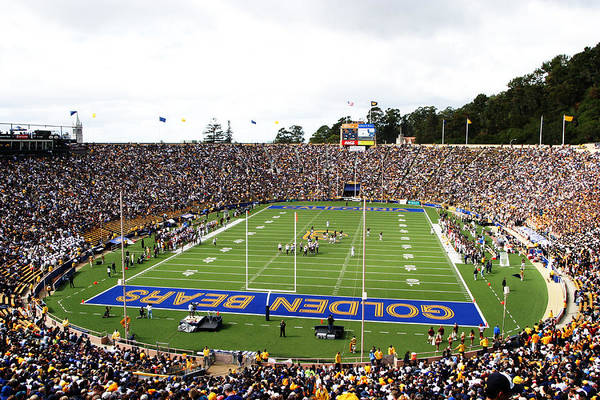 Cal Poster featuring the photograph Cal Memorial Stadium by Icon Sports Media