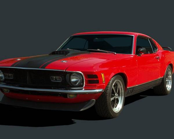 1970 Mustang Mach 1 by Tim McCullough