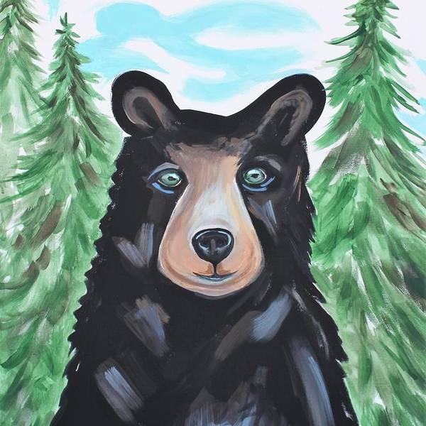 Bear in the Woods by Elizabeth Robinette Tyndall