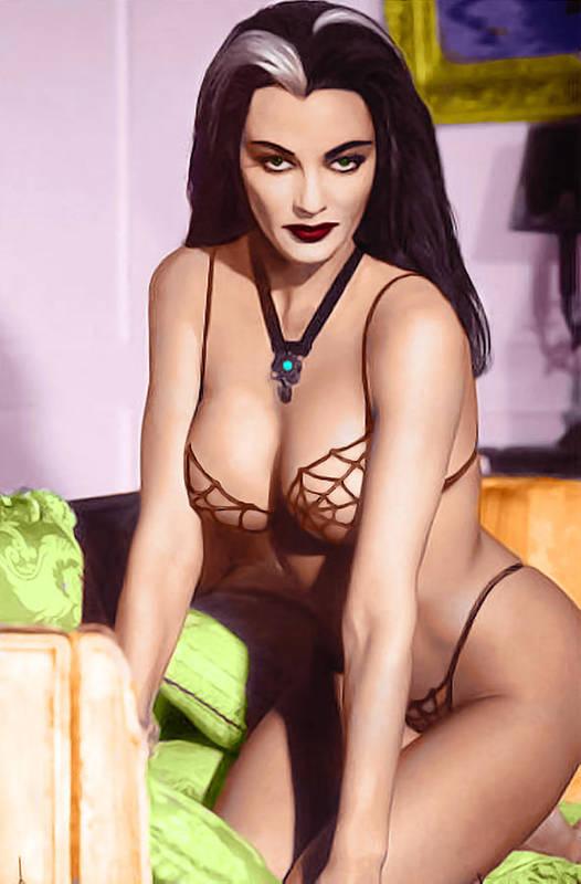 Munster Family LILY MUNSTER Fantasy nude  by Jorge Fernandez