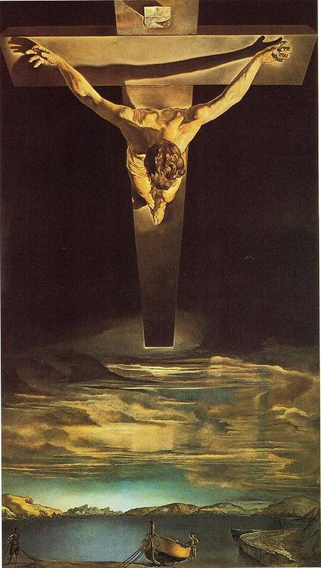 Christ of Saint John of the Cross by Salvador Dali