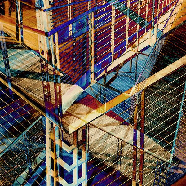 Urban Abstract 207 by Don Zawadiwsky