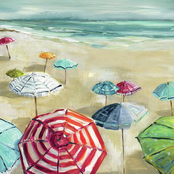 Umbrealla Beach 2 by Carol Robinson