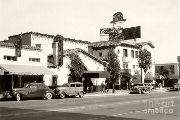 Hollywood Brown Derby by Sad Hill - Bizarre Los Angeles Archive