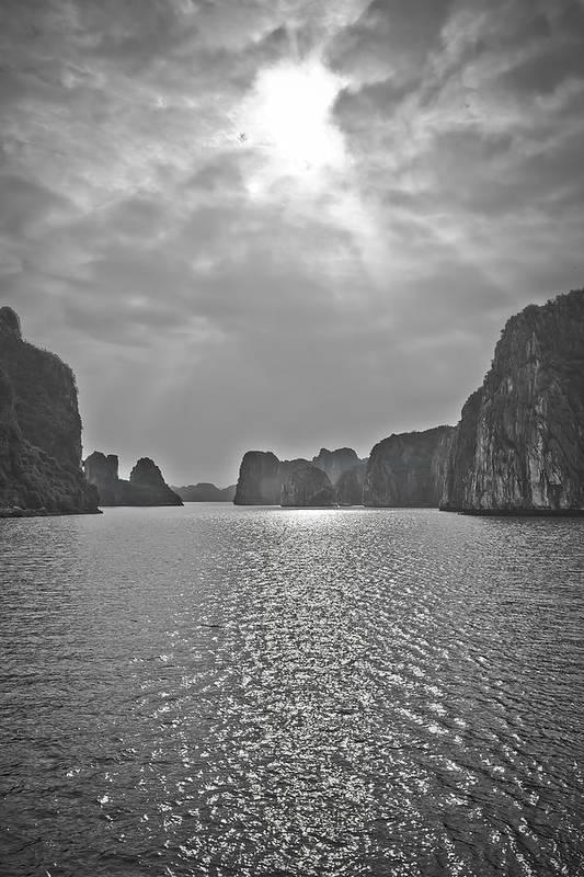 Halong Bay Monochrome by Steve Smith