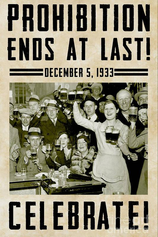 Prohibition Ends Celebrate by Jon Neidert