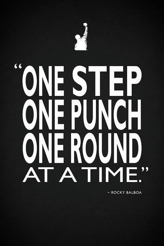 One Step One Punch One Round by Mark Rogan