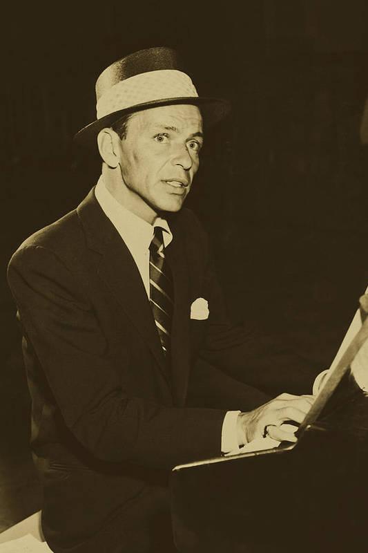 Frank Sinatra - 1955 by Mountain Dreams