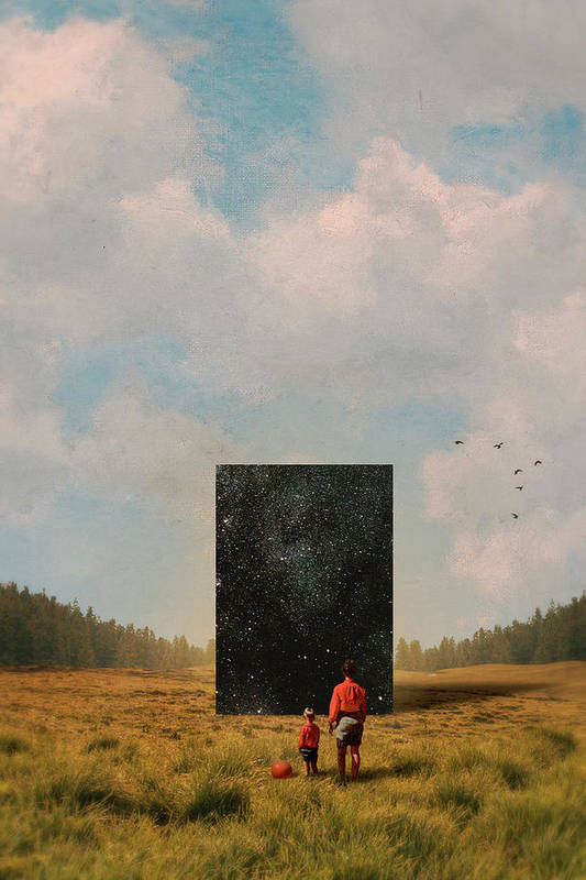 Son, this is the Universe by Fran Rodriguez
