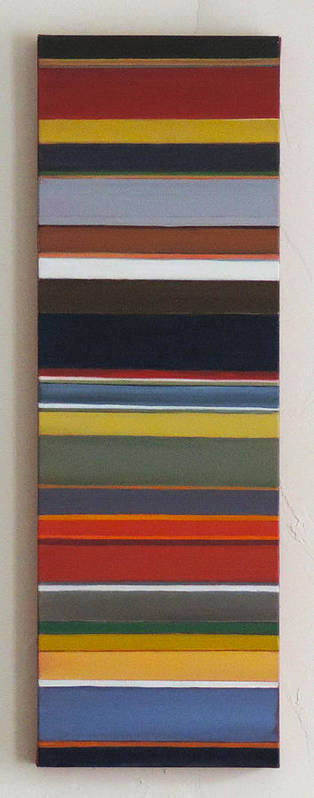 #abstract Poster featuring the painting Short Track by Erin Trunel