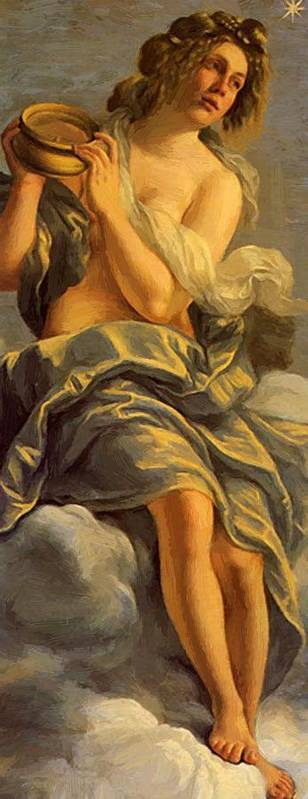 Allegoria Poster featuring the painting Allegoria Dell Inclinazione 1615 by Gentileschi Artemisia