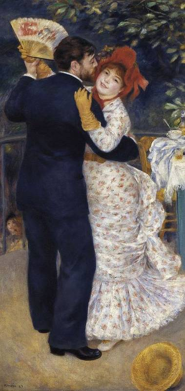 Vertical Poster featuring the photograph Renoir, Pierre-auguste 1841-1919. Dance by Everett