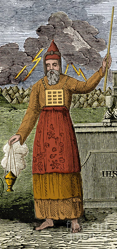 History Poster featuring the photograph Figure Symbolizing Judaism by Getty Research Institute