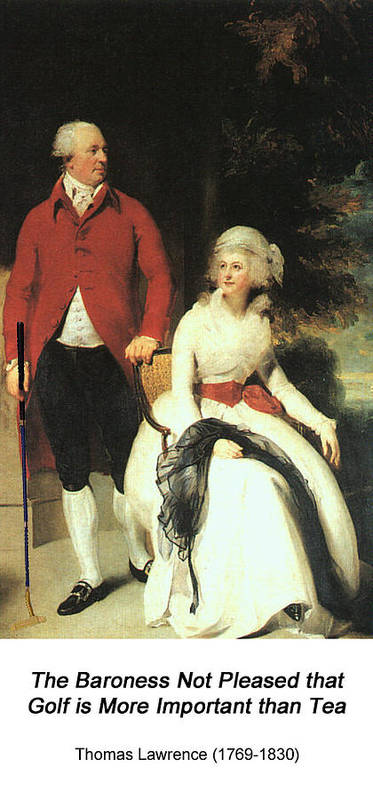 Altered Art Poster featuring the digital art Mr And Mrs John Julius Angerstein by John Saunders