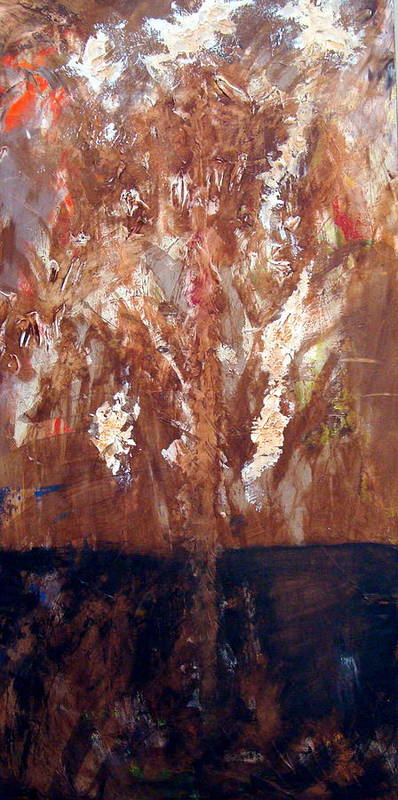Autumn Poster featuring the painting Autumn by Holly Picano