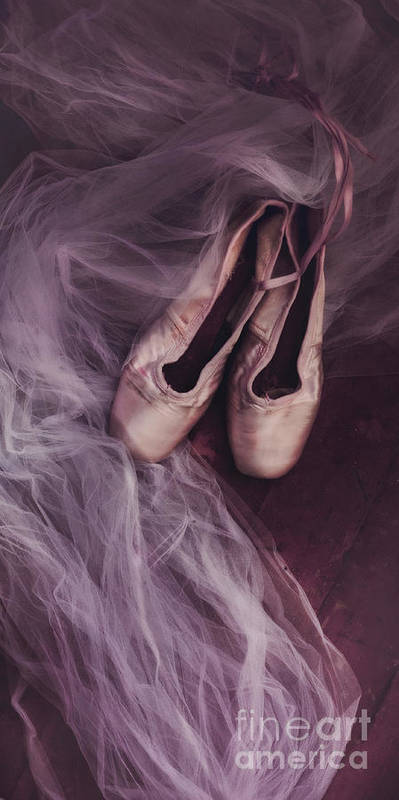 Shoes Poster featuring the photograph Danse Classique by Priska Wettstein