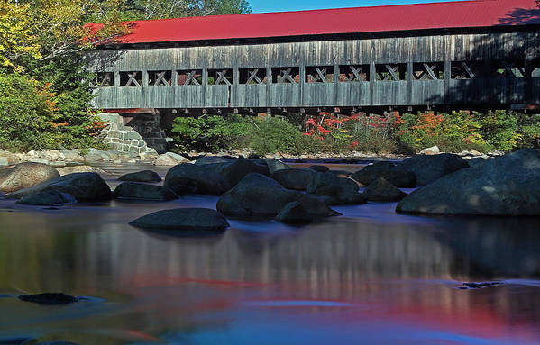 Albany Covered Bridge by Juergen Roth