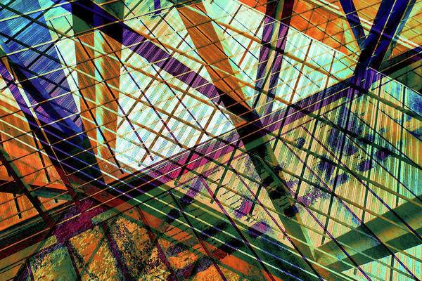 Urban Abstract 424 by Don Zawadiwsky
