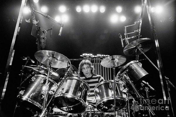 Rush  Neil Peart Poster by Trindira A