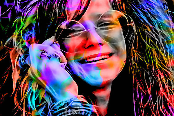 Janis Joplin Collection by Marvin Blaine