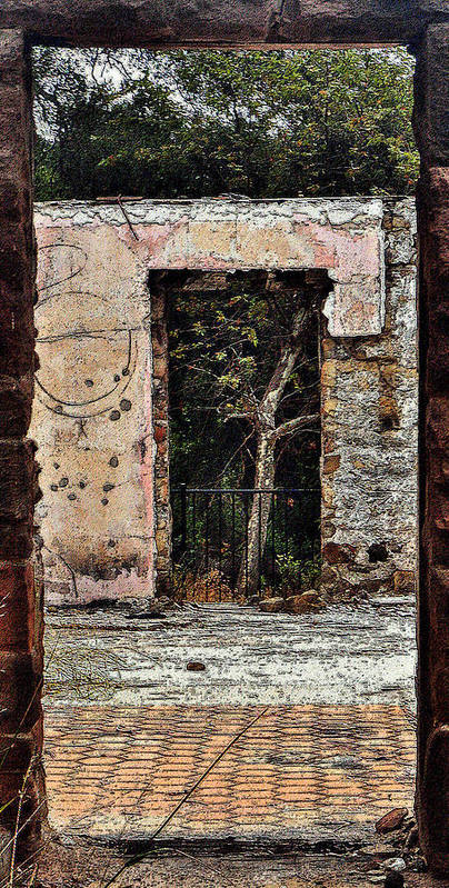 Doorways Poster featuring the photograph Untitled by Daniele Smith