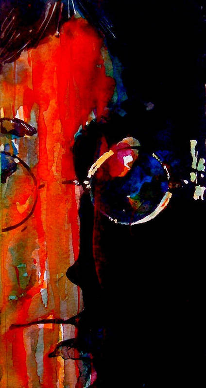 John Lennon Poster featuring the painting Living Is Easy With Eyes Closed by Paul Lovering