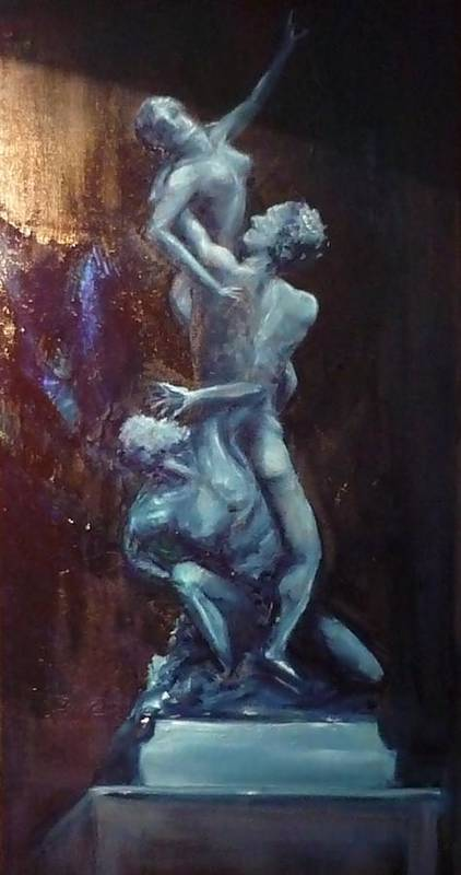 Classics Poster featuring the painting Figurative IIi by Lizzy Forrester