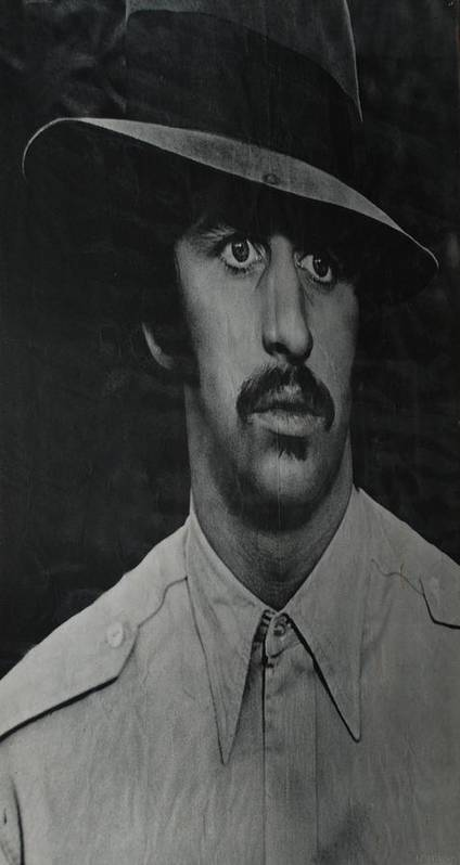 Ringo Starr Poster featuring the photograph Ringo by Rob Hans