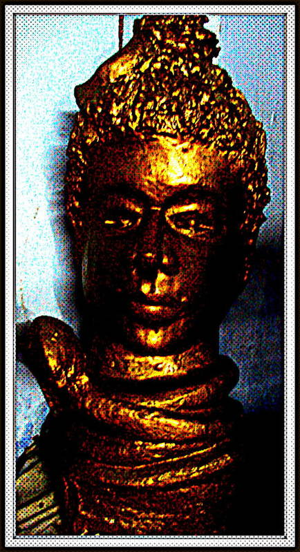 Sculptures Poster featuring the sculpture Lord Shiva by Anand Swaroop Manchiraju