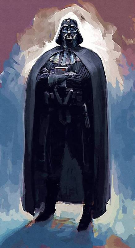 Sith Star Wars Poster featuring the digital art Star Wars Episode 6 Poster by Larry Jones