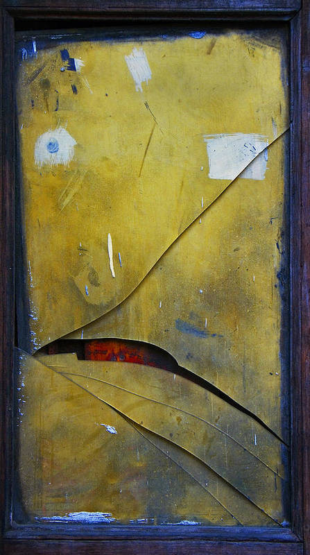 Abstract Poster featuring the photograph Xalapa Miro by Skip Hunt