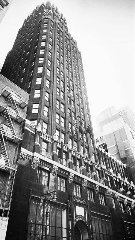 Building Poster featuring the photograph Bryant Park Hotel by Thomas Pascal
