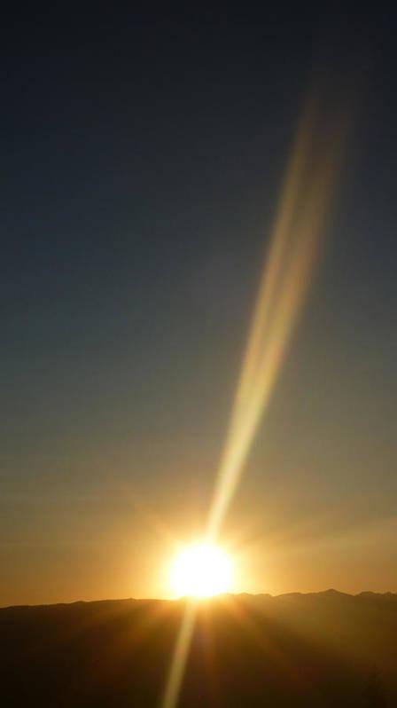 Sun Poster featuring the photograph Sunset In New Meadows Idaho by Fernando Delgado